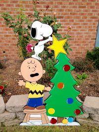 christmas peanuts yard art decoration, snoopy christmas ...
