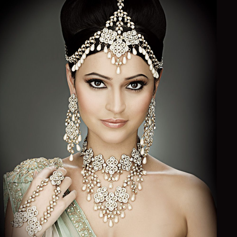 Indian Wedding Head Jewelry