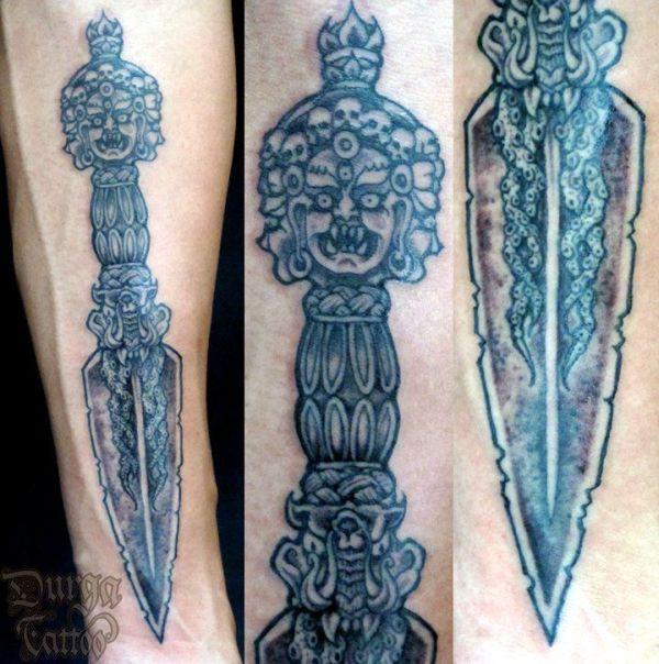Vajrakila Phurba The Tibetan ritual dagger Sanskrit
