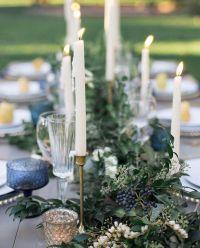 Dusty Blue Wedding decor | DUSTY BLUE & GREY WEDDING THEME ...