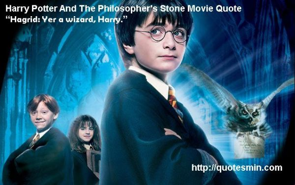 Harry Potter And The Philosopher39s Stone Movie Quote