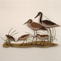 Sandpiper Family Wall Sculpture $93.99 | Fashion Items I ...
