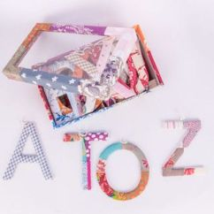 Wishing Chair Photo Frame Wheelchair Kid Glee A Handmade Gift Box Of To Z Patchwork Alphabets Ideal For Baby Quirky Home Decor Unique Gifts And Beautiful Frames Online Shopping In India