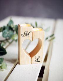 Valentines Day Girlfriends Wedding Candle Holder