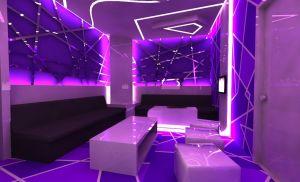 karaoke interior purple neon bedroom aesthetic futuristic club pc rooms nightclub episode strip night furniture backgrounds