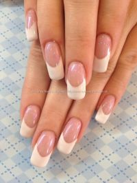 Acrylic+nails+with+custom+cover+pink+and+white+French+gel ...