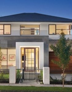Front view of our award winning display home also facades pinterest rh