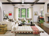 Luxe Magazine Spanish bungalow | Living Rooms | Pinterest ...