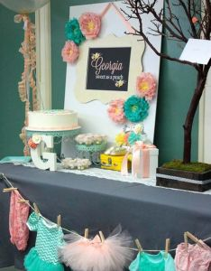 cute  low cost diy decorating ideas for baby shower party also best images about on pinterest rh