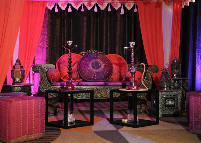 Moroccan Theme Party! Hookah Lounge Idea!