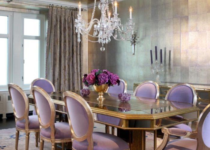 Purple sofa furniture decor living room makeover also
