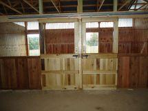 DIY Horse Stall Doors for Barns