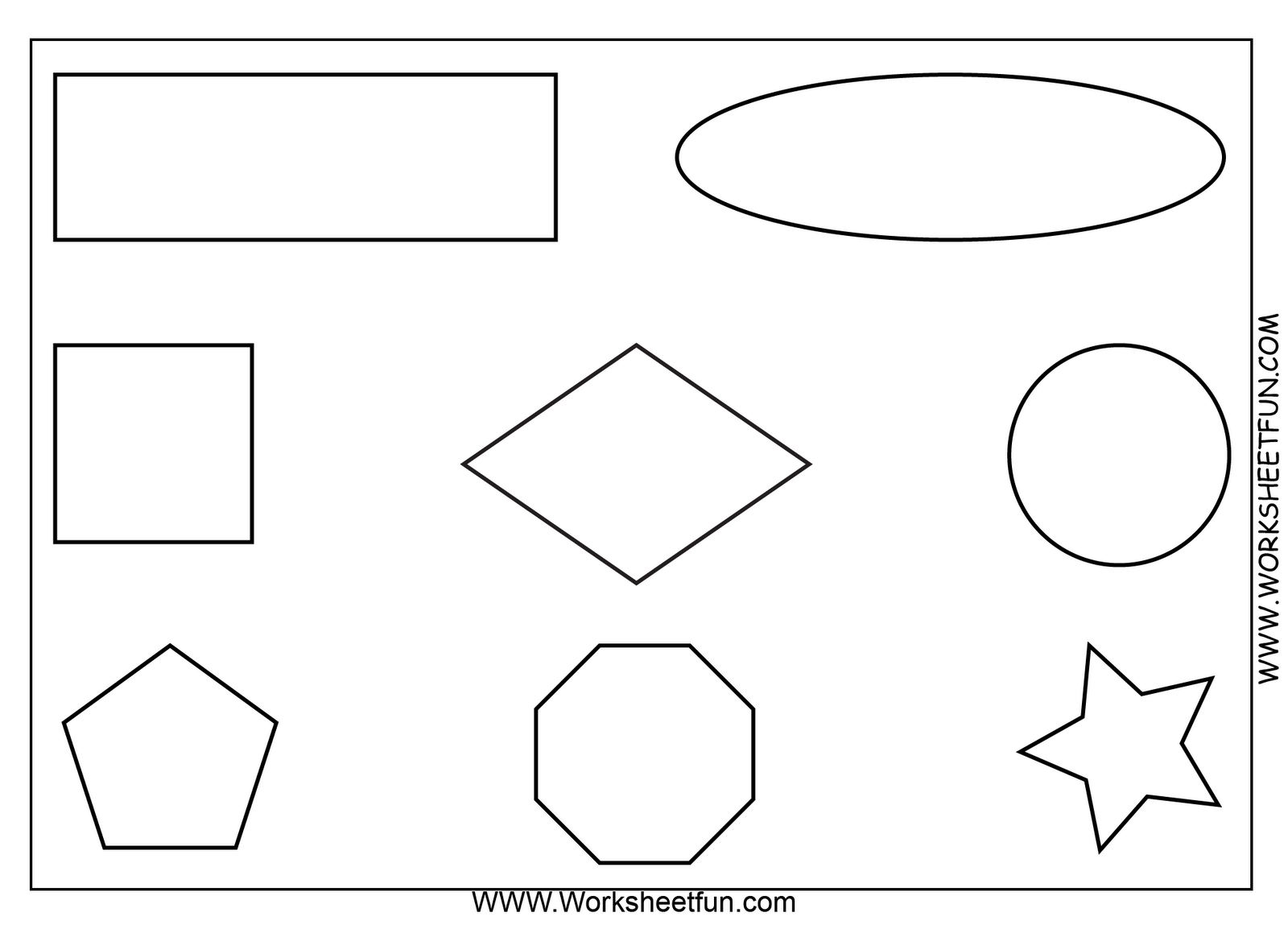 Free Printable Math Worksheets Use As An Oral Direction