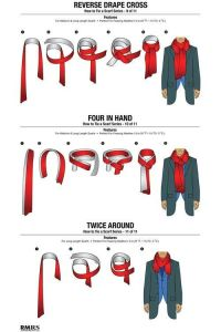 How to tie a scarf for men | Tips And Tricks | Pinterest ...