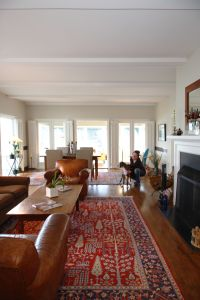 Would love an old Persian rug in my living room - even a ...