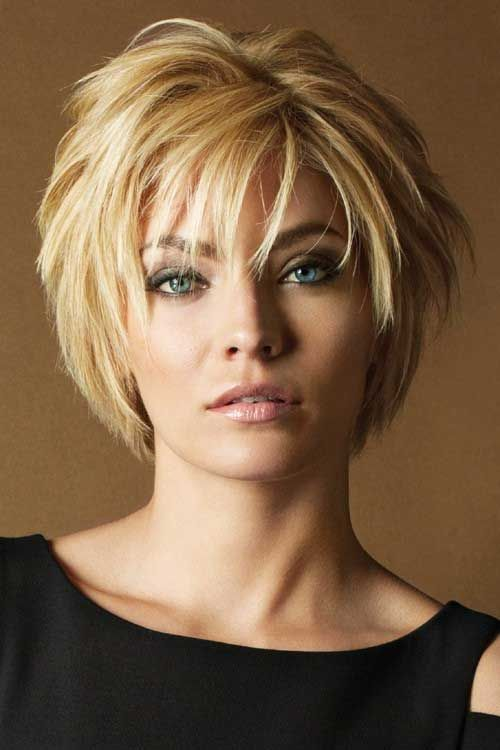 20 Fashionable Layered Short Hairstyle Ideas WITH PICTURES