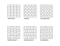 floor tile patterns | Plan  There are many tile patterns ...