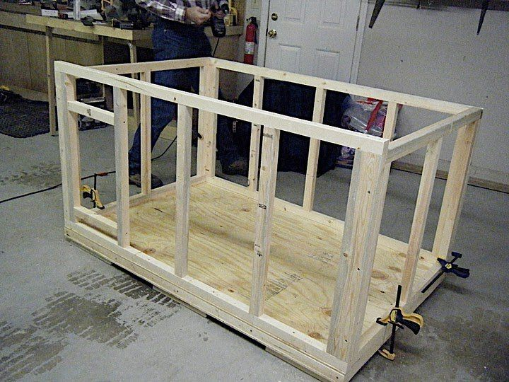 Free Wood Dog House Plans Insulated Dog House By Mijohnst