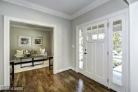 Traditional Entryway with Crown molding, Hardwood floors ...
