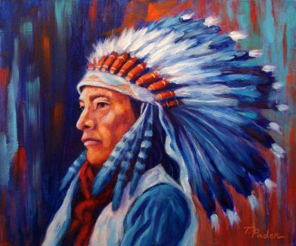 Western Artist Native American Indian Art