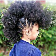 little girl fro mohawk