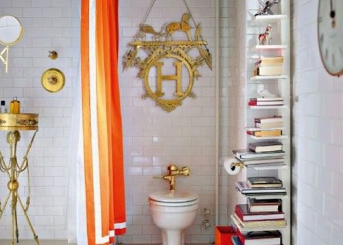 No color on the floors and walls but white love black ceiling gold metal accents this is definitely not  boring bathroom also veronikamaine brightvintagefloral inspiration summer