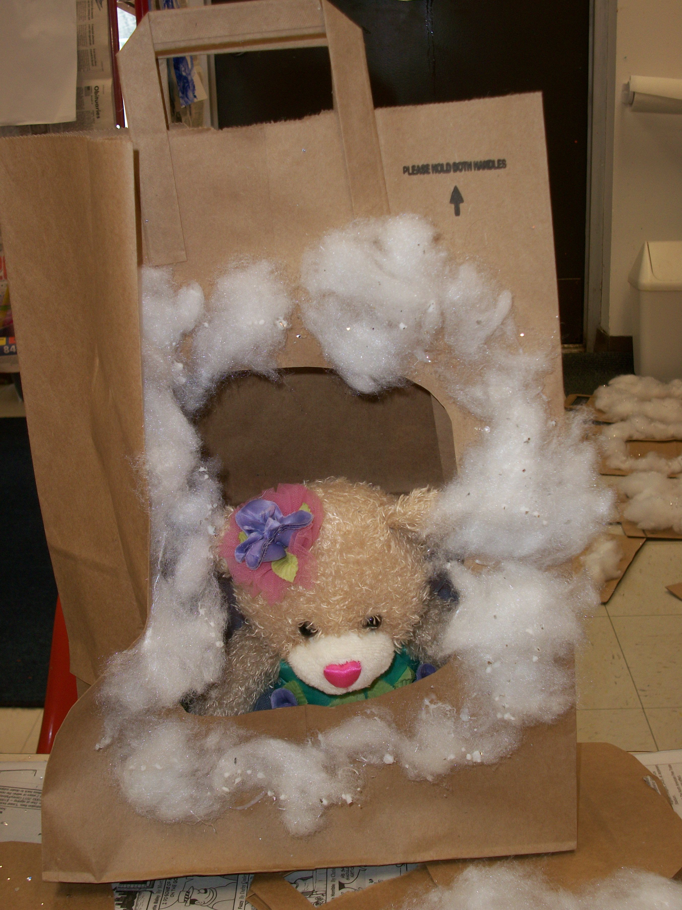 Students Can Bring Their Teddy Bears And Create A Cave For