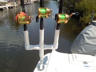 diy multiple rod holder boat