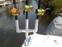 diy multiple rod holder boat