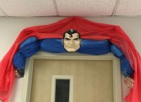 Superman door decor | Superhero door decoration ...