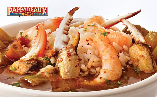 Pappadeaux Seafood Kitchen  Menu  Pappadeaux  Pinterest