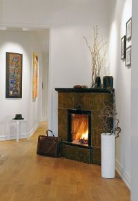 Corner Fireplaces Design Ideas Galleries | Fireplace ...