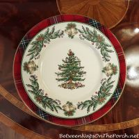 Tartan Chargers for the Holiday Table | Christmas tree ...