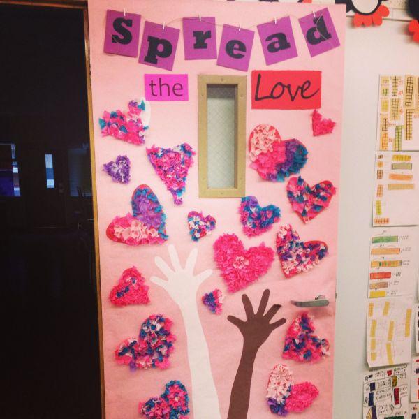 Black History Door Decoration Valentine's
