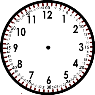 Clocks are two clocks on top of each other. The minute