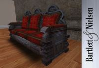 Medieval and Gothic Home Furniture | Gothic carved sofa ...