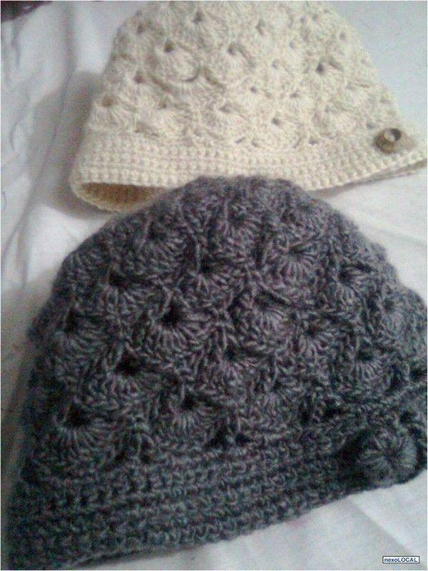 Bonnet En Crochet Femme