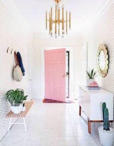 At first blush  beautiful mess  elsie larson home in nashville mid century designmid modern decorlighting designvintage interior also rh za pinterest