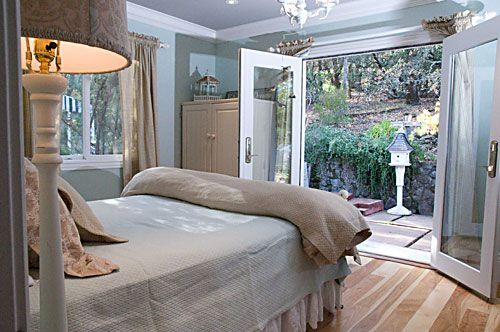 i really want a master bedroom that has french doors i can walk