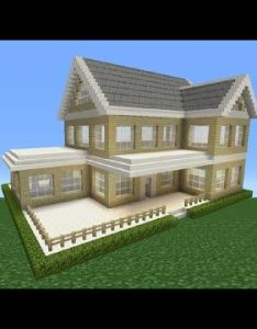 Minecraft tutorial how to make  suburban house youtube also one come all the files chimney swift skills will drive rh pinterest