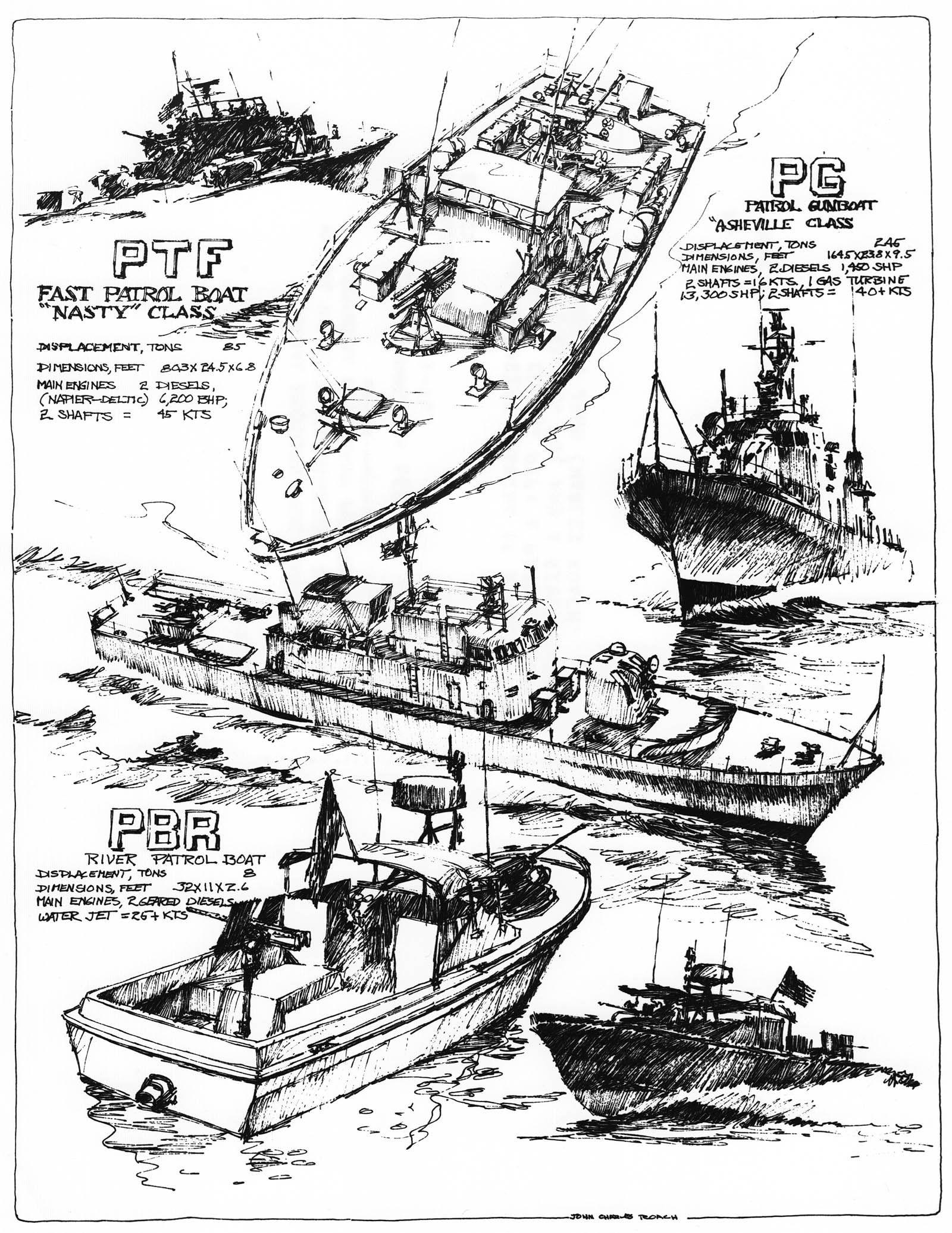 Brown Water Navy In Vietnam