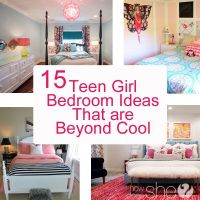 Teen Girl Bedroom Ideas - 15 Cool DIY Room Ideas For ...