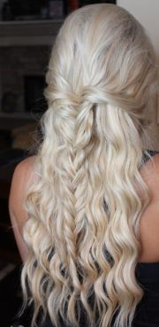 homecoming hairstyles 2016 fishtail