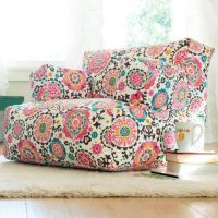 Furniture , Cool And Comfy Teen Bedroom Chairs : Floral