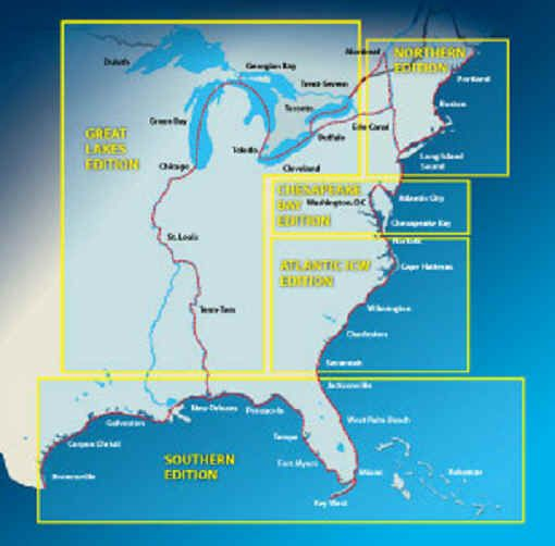 Is there a map of the Intracoastal Waterway available ...