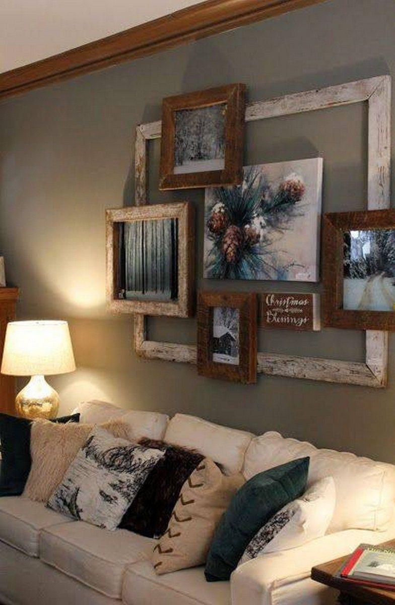 diy farmhouse living room wall decor and design ideas also rh pinterest