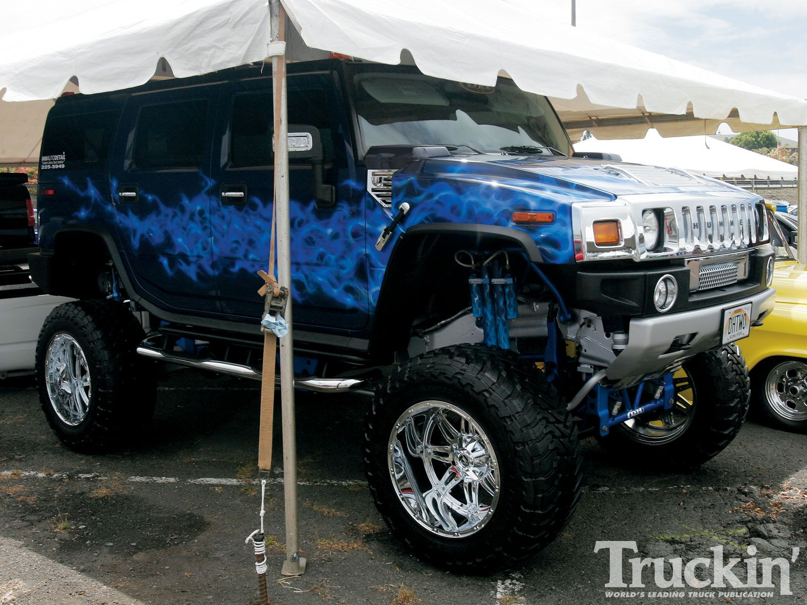 Pix For Lifted White Hummer H2 f Road Toy s