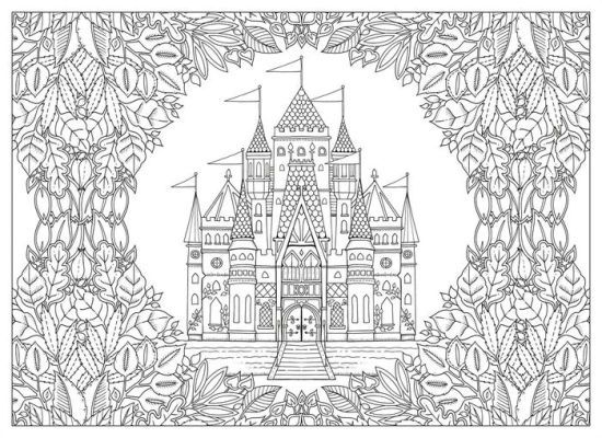 artist johanna basford enchanted forest coloring pages