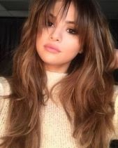 A Complete Guide To Bangs - Selena Gomez