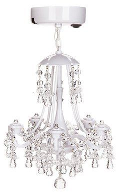 How Cute Is This White Beaded Locker Chandelier Right Now You Can Get It
